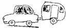 Auto-Wohnwagen