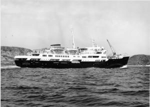 """MS_Lofoten - die """"alte Lady"""" der Hurtigruten Flotte"""