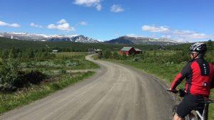 Sykkeltur Valdres - foto Britt Elton