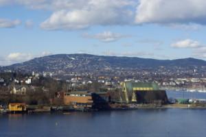 Hafeneinfahrt von Oslo Foto: © SkandAktiv