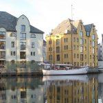 Jugenstilstadt Ålesund © Hurtigruten Gästefoto, Margot Muschweck