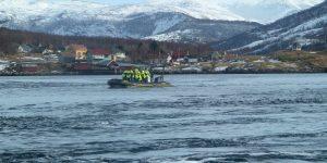 Saltstraumen - stärkster Gezeitenstrom der Welt © Hurtigruten, Gästefoto Anette Drabe