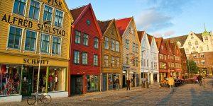 UNESCO Weltkulturerbe in Bergen Foto: © A.Mindaugas-Shutterstock