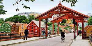 Alte Stadtbrücke inTrondheim Foto: © Stein J.Bjørge